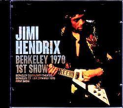 Jimi Hendrix/CA,USA 5.30.1970 First Show 2CD-R