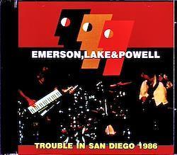 EL & P Emerson,Lake & Powell/CA,USA 11.1.1986 2CD-R