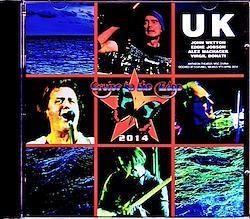 U.K. John Wetton,Eddie Jobson/Mexico 4.9.2014 2CD-R