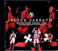 Black Sabbath/Osaka,Japan 1980 2CD-R
