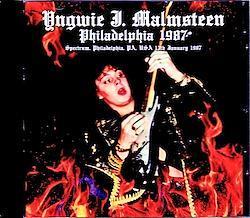 Yngwie Malmsteen/PA,USA 1987 1CD-R