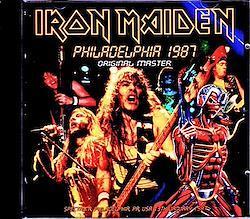 Iron Maiden/PA,USA 1987 New Master 2CD-R