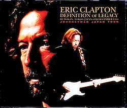 Eric Clapton/Tokyo,Japan 12.6.1990 2 Diffirent Sources 4CD-R