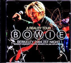 David Bowie/CA,USA 4.16.2004 2CD-R