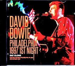 David Bowie/PA,USA 10.3.1997 2CD-R
