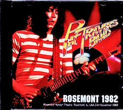 Pat Travers Band/IL,USA 1982 1CD-R