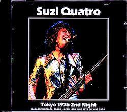 Suzi Quatro/Tokyo,Japan 6.13.1976 2CD-R