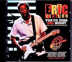 Eric Clapton/Tokyo,Japan 11.23.2006 2CD-R