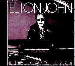 Elton John/NY,USA 1970 1CD-R