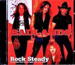 Badlands Jake E. Lee/Tokyo,Japan 6.19.1989 2CD-R