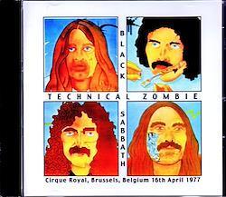 Black Sabbath/Belgium 1977 1CD-R