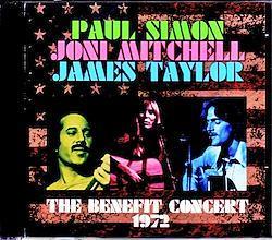 Paul Simon,Joni Mitchell,James Taylor/OH,USA 1972 2CD-R