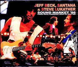 Jeff Beck,Santana,Steve Lukather/Nagano,Japan 1986 Complete 3CD-R