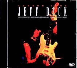 Jeff Beck/London,UK 2007 1DVD-R