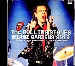 Rolling Stones/FL,USA 8.30.2019 1DVD-R