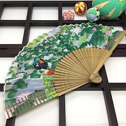 扇子 舞妓 紫陽花 蓮 桔梗 京都 婦人 女性