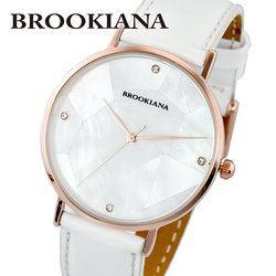 ブルッキアーナ BROOKIANA ROUND SLIM PEARL BA3101-RPWLWH メンズ 時計 腕時計 クオーツ