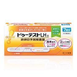 ロート製薬 ドゥーテストLHII(7回用)