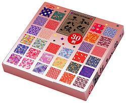 8110232   折り紙 30柄 和紙千代紙 150mm 23-1999
