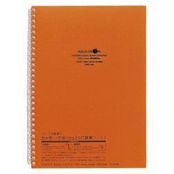4156306 リヒトラブ ツイストリング・ノート B5S N-1608-4 橙
