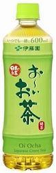 伊藤園 お~いお茶 緑茶 600ml 1ケース(24本入)