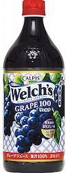 ウェルチ 果汁100%ジュース(8本) グレープ