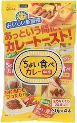 江崎グリコ ちょい食べカレー4本入り 中辛 120g