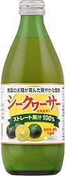 湧川商会 シークヮーサー 台湾産果汁 100% 360ml 瓶 [ ストレート果汁100% 保存料 香料 不使用 シークアーサー 国内加工 ]