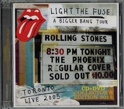 ROLLING STONES / LIGHT THE FUSE PHOENIX 2005  (1CD+1DVD)