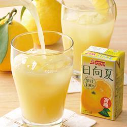 【125ml×24本セット】日向夏ストレートジュース