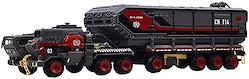 おもちゃ カーモデル、合金装甲車モデルダイカストバントランスポータートラックモデル おもちゃのアクセサリー
