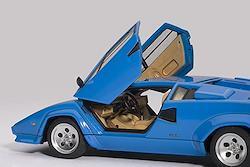 AUTOart 1/43 ランボルギーニ カウンタック 5000S (ブルー) 完成品