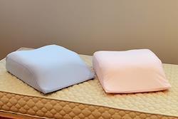 日本製 足用快適クッション ブルー系