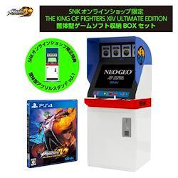 THE KING OF FIGHTERS XIV ULTIMATE EDITION 筐体型ゲームソフト収納BOXセット - PS4