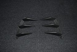 A-Class W176用 s.d.f star design factory社製 Urethane  Rear bumper duct fin