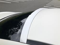 CLS  C257用 star design factory社製 FRP Paint  Roof Spoiler