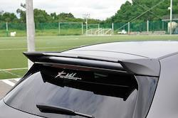 A-Class W177 star design factory社製 Rear roof wing  FRP paint