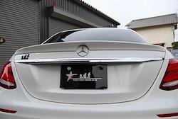 E-Class W213用 s.d.f star design factory社製 FRP Gelcoat Trunk spoiler
