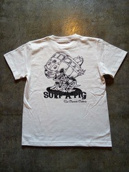 SURF A PIG メンズプリントTシャツ ST-16