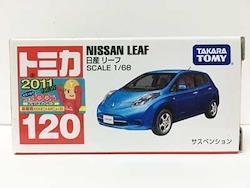 トミカ 120 日産 リーフ(新車シール付)  TMC00178