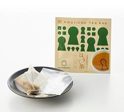 【つぼ市製茶本舗】 古墳型昆布入り ほうじ茶ティーバッグ (2g×1p)