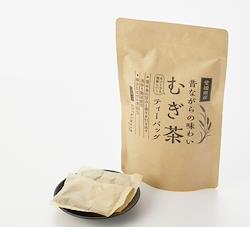 【つぼ市製茶本舗】 愛媛県産 昔ながらの味わいむぎ茶 ティーバッグ (麦茶) 7g×22p