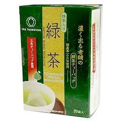 【つぼ市製茶本舗】濃く出る老舗の緑茶ティーバッグ (煎茶) 1.8g×20p×12箱