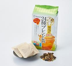 【つぼ市製茶本舗】国内産24種ブレンド茶ティーバッグ 4g×32p
