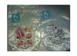 【新品】みんなのくじ ユーリ!!! on ICE フクースナー!!! F賞 巾着ポーチ 2種セット 勇利 ヴィクトル  ユーリオンアイス