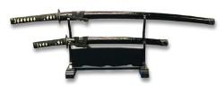 巌流島の決戦をイメージ 美術模造刀剣 宮本武蔵拵え