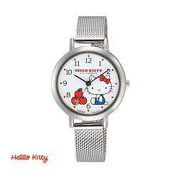 シチズン Q&Q ハローキティ HELLO KITTY カジュアルウォッチ シルバー 腕時計 レディース 0031N204