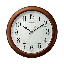 リズム時計 電波時計 掛け時計 電波掛時計 ピュアライトM25 4MYA25SR06