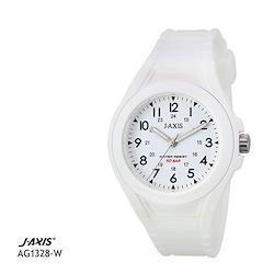 ジェイアクシス J-AXIS サン・フレイム 10気圧防水腕時計 レディース AG1328-W