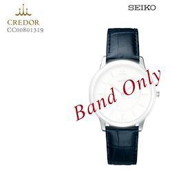 SEIKO セイコー CREDOR クレドール 紳士用 メンズ クロコダイル 純正レザーバンド 替えバンド CC00801319 お取り寄せ